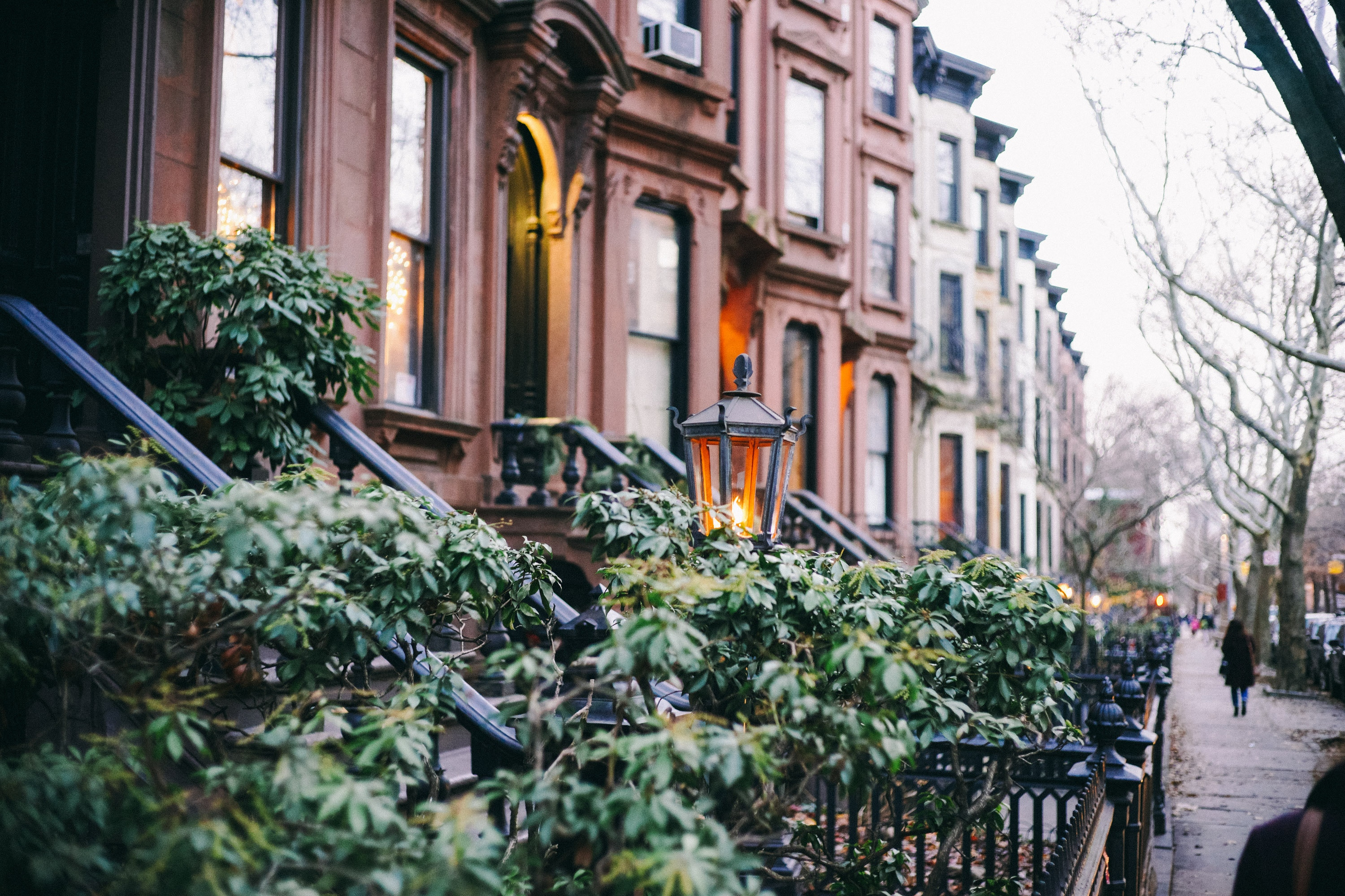 A view of a street in Park Slope, Brooklyn. - something you will see as soon as you start preparing for your local moving project