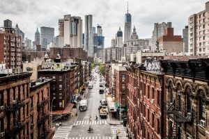 New York cityscape. - NYC neighborhoods for newcomers