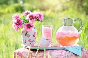 Have a refreshing lemonade in nature