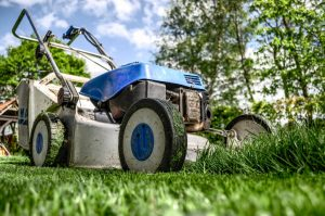 Pack your garage and start with lawnmover in your backyard