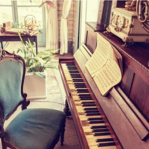 Moving your piano might be a part of planning a home office
