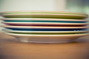 Try to pack your plates vertically insted of horizontally