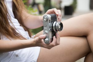 girl with photography