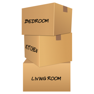 Writing the room on the box isn't the only way to label moving boxes!