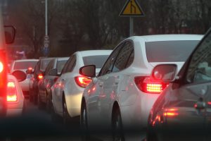 Traffic jams during holiday season are very prevalent