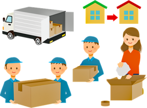 movers and moving truck