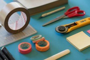 Packing Supplies Professional Packers Use - Packing Tape, Scissors