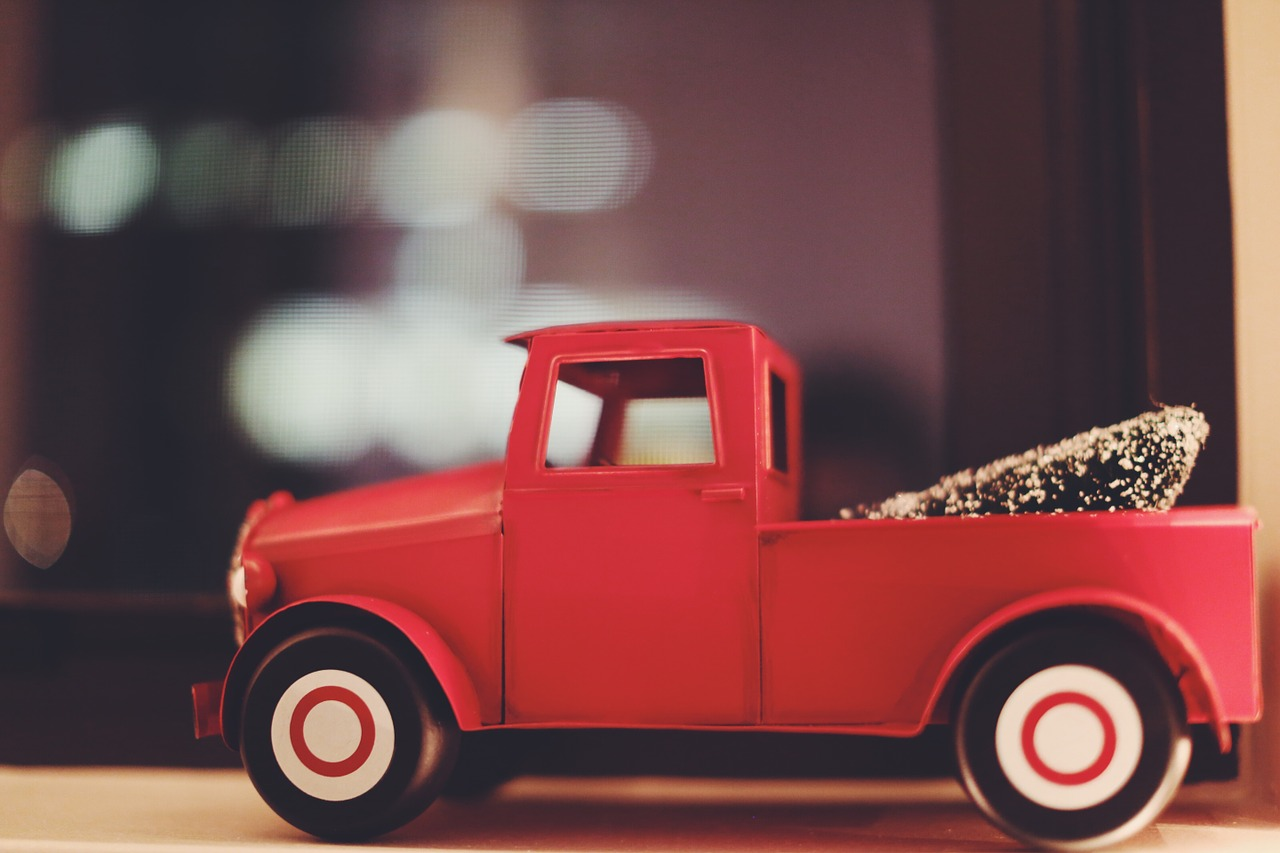 A toy truck.