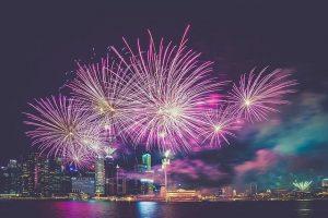 Fireworks in Brooklyn