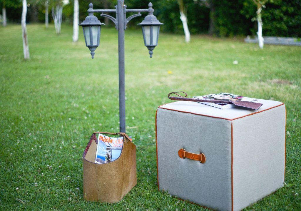 Box in the garden