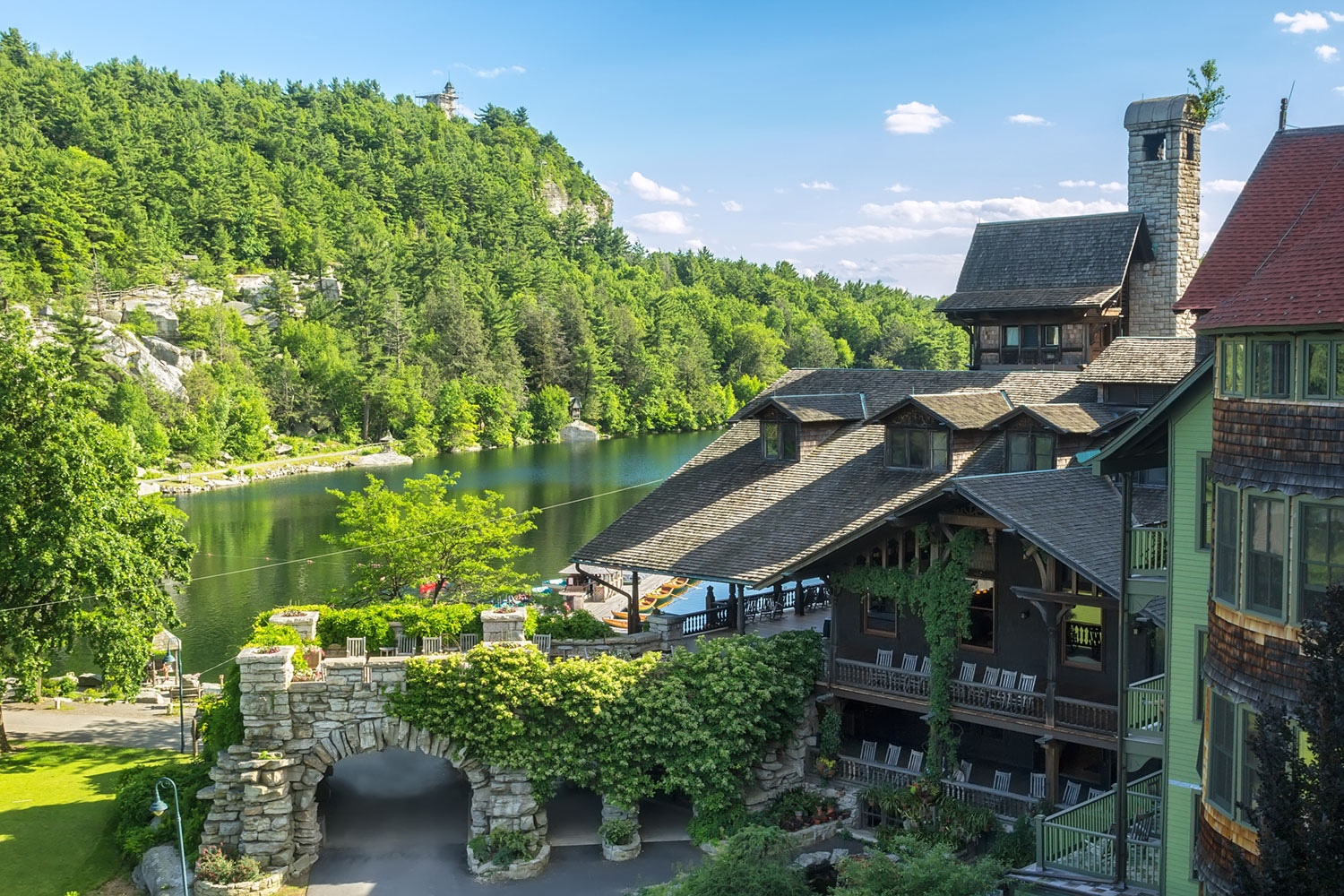 Weekend Getaway from New York City - Mohonk Mountain House