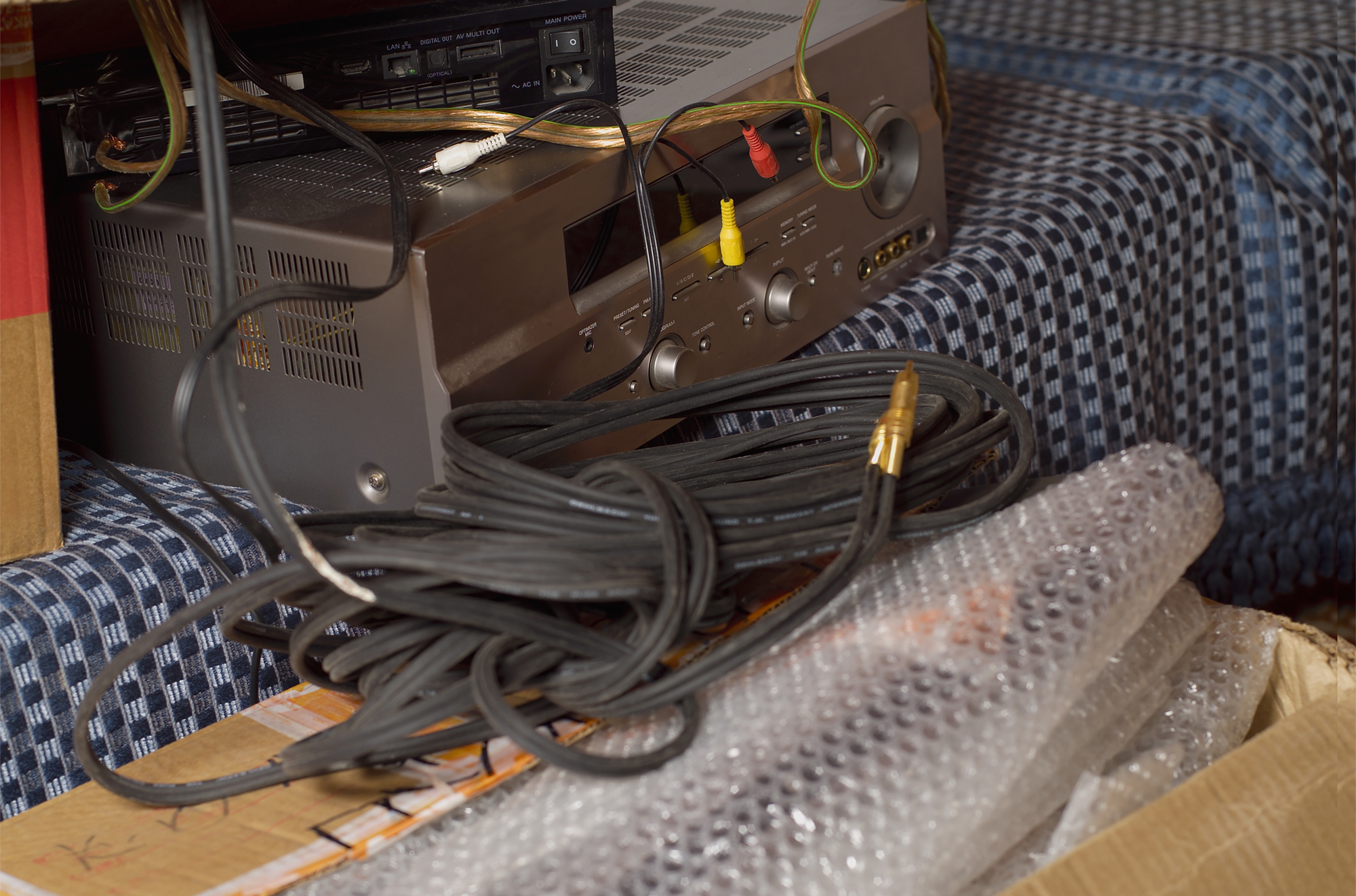 Packing Electronics in Bubble Wrap