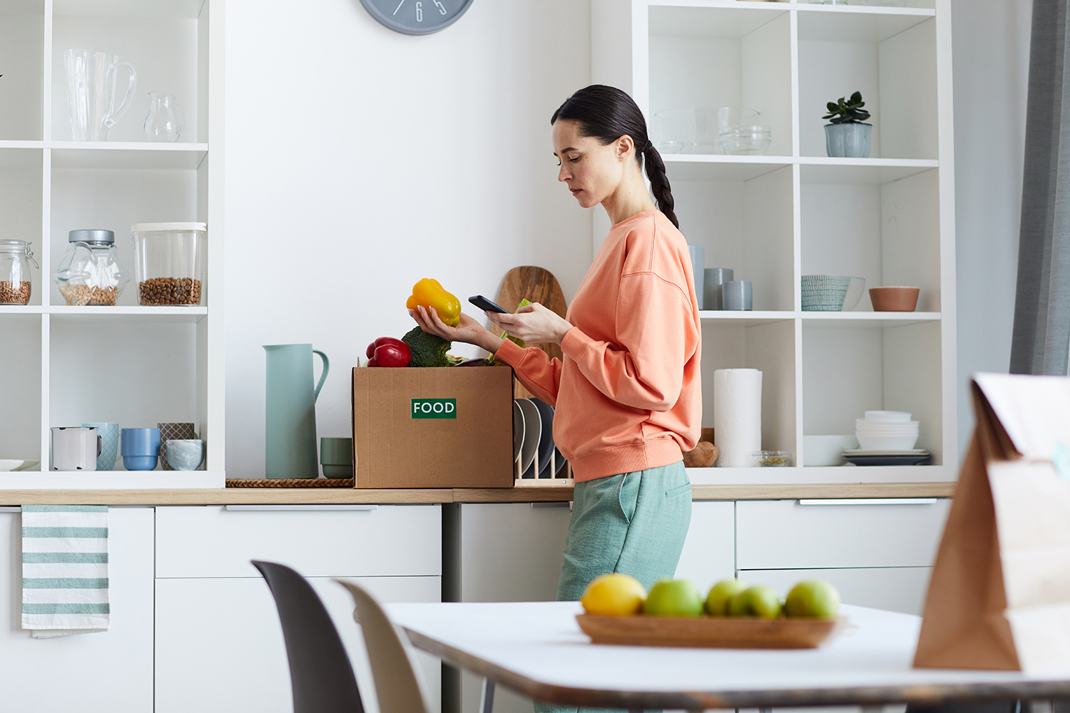 Reduce Food Waste When Moving