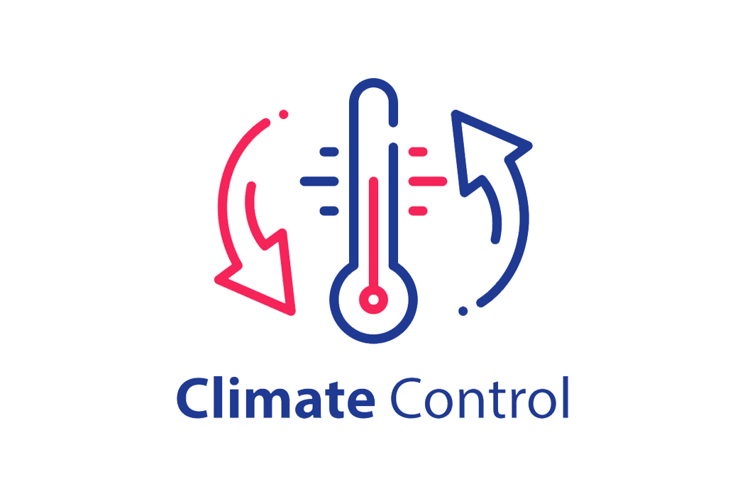 A sign for a climate controlled storage unit
