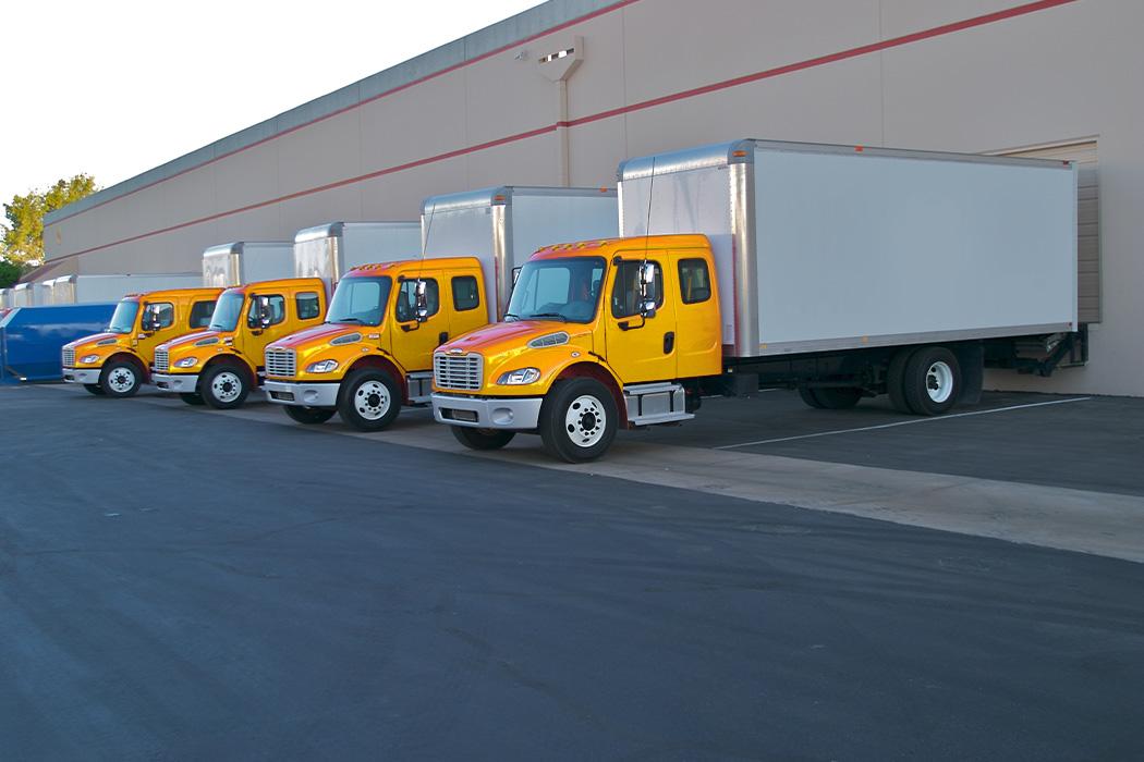 Moving trucks for moving senior citizens