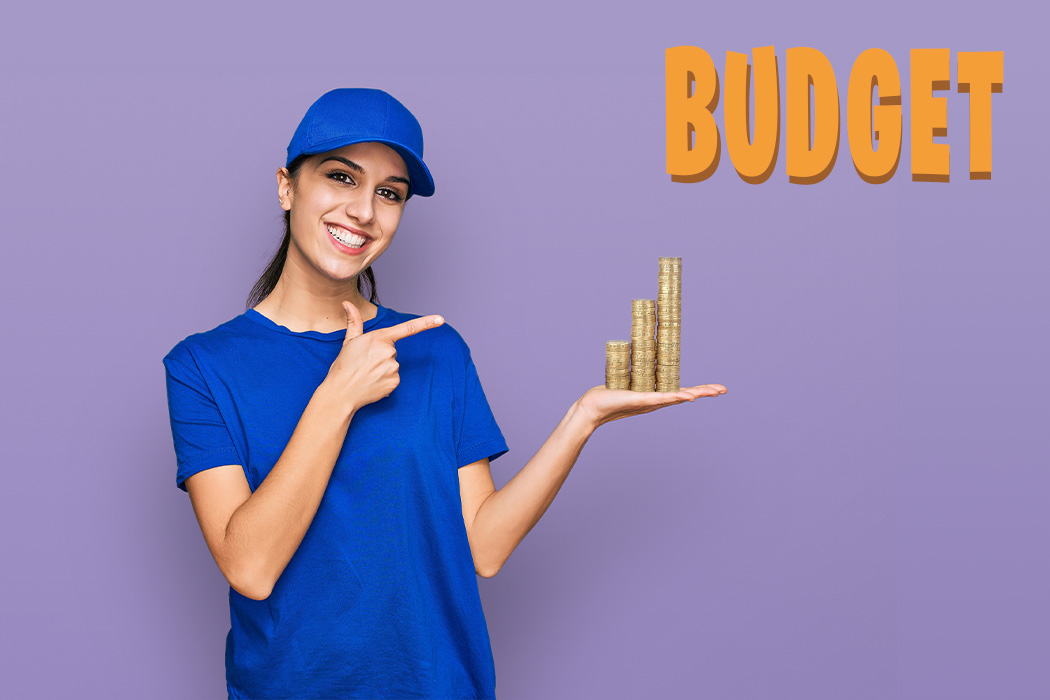 Set your budget should be at the top of your moving to-do list