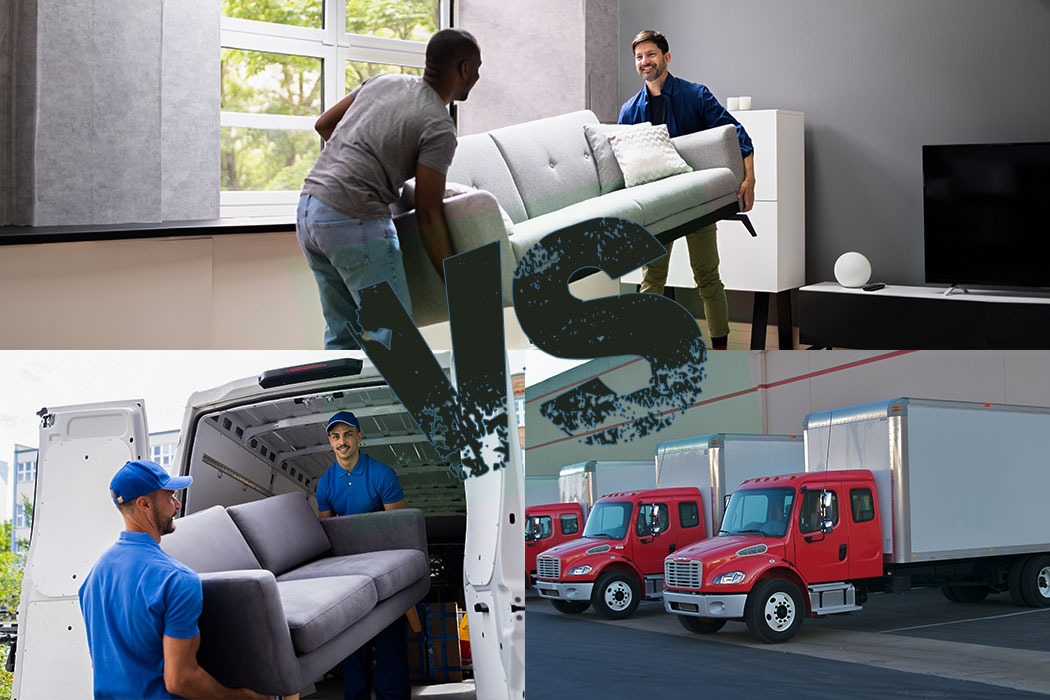 Moving Labor vs. Traditional Movers Services